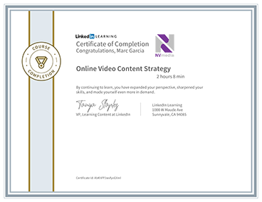 Online Video COntent Strategy
